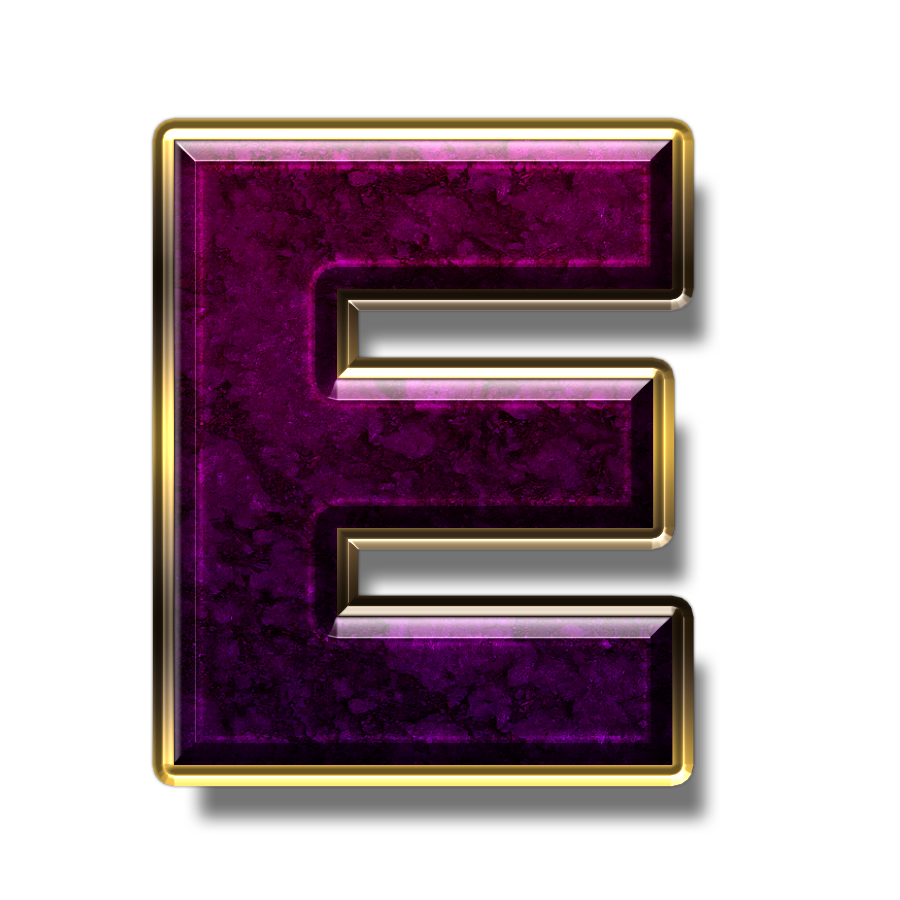 E logo in png format