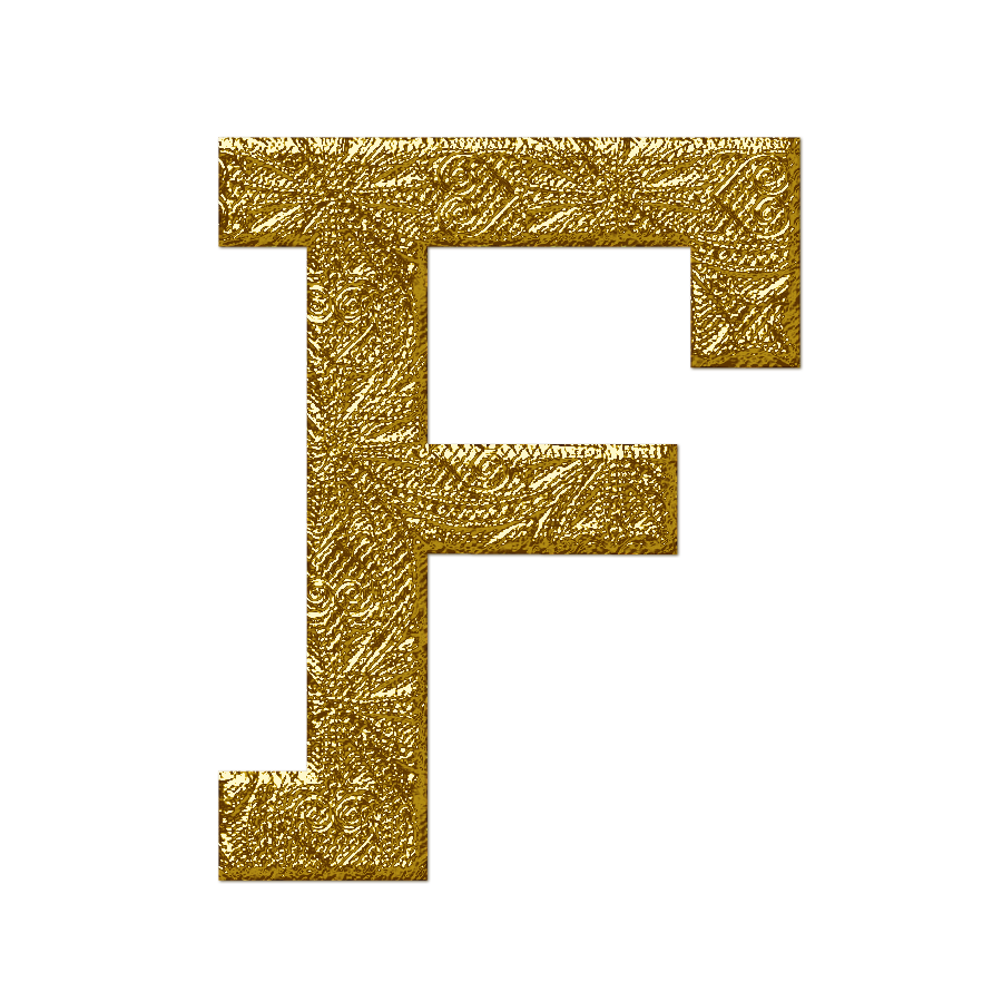 f text logo png