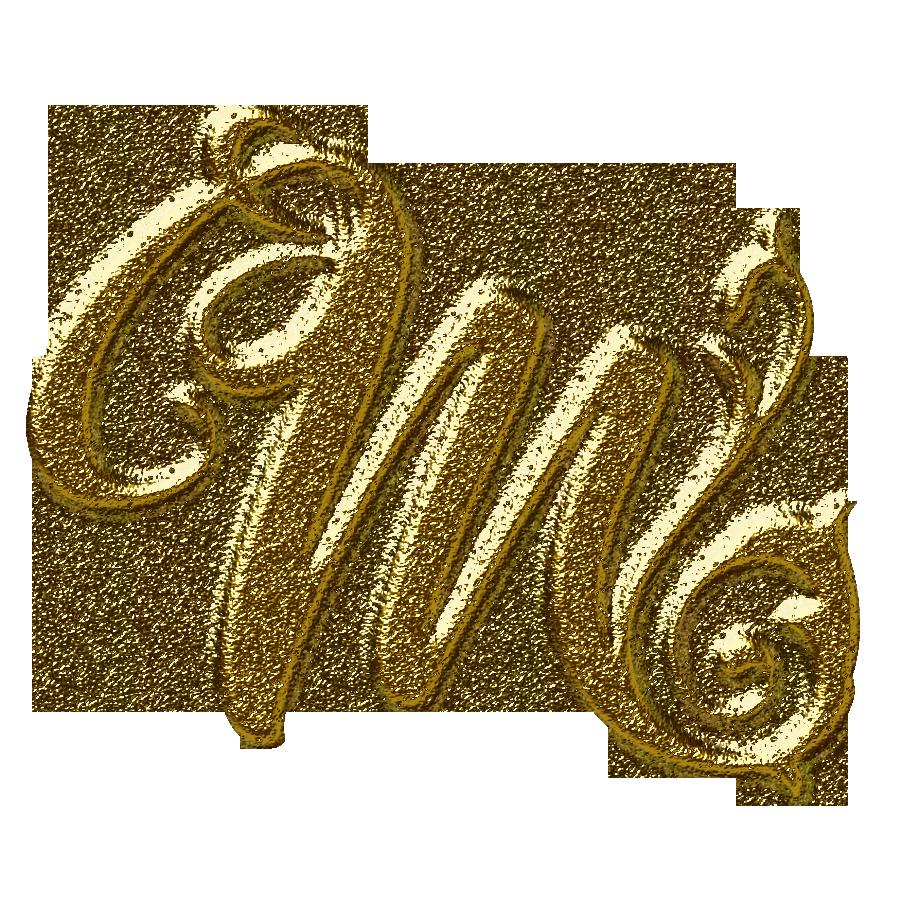 m text logo