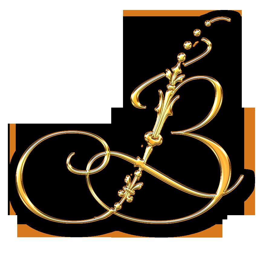 letter b tattoo