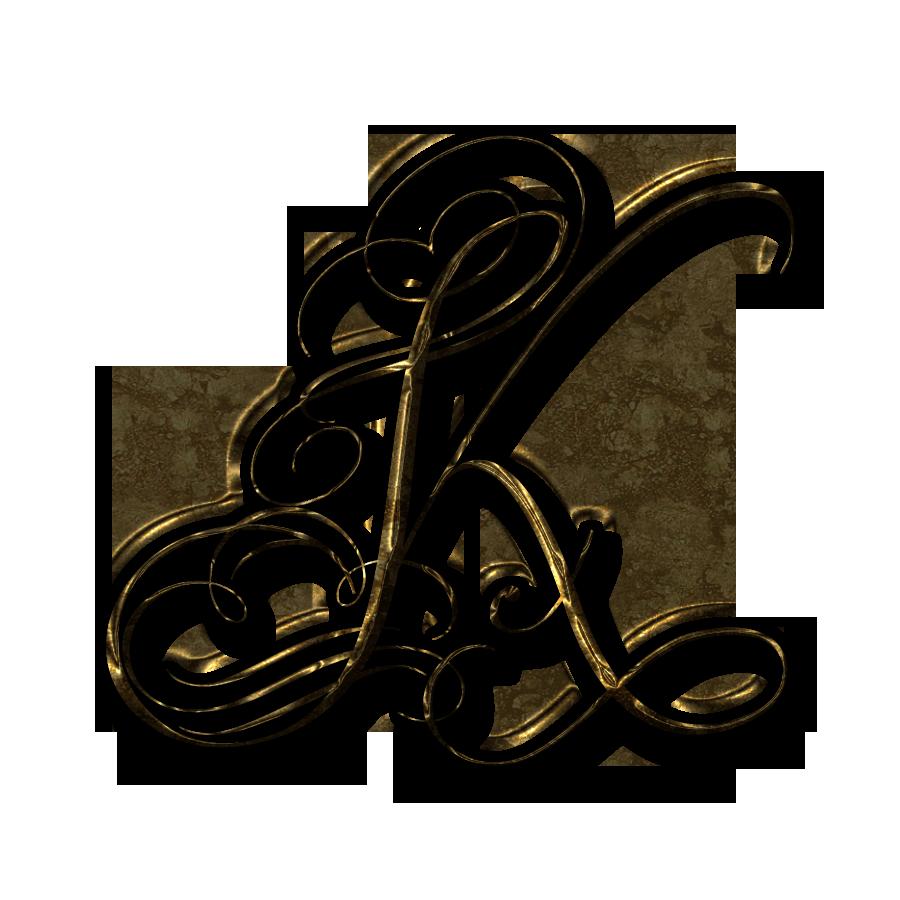 k letter design