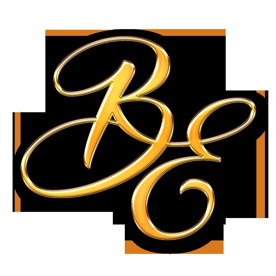 be letter logo