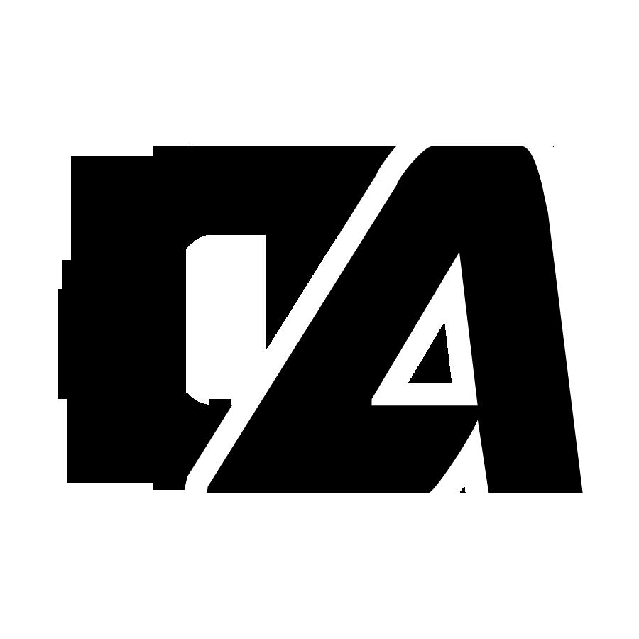 ca letter logo