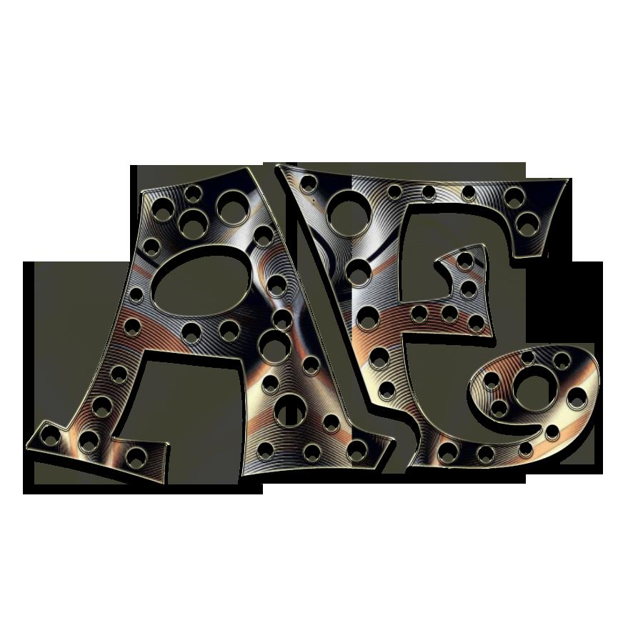 ae text logo