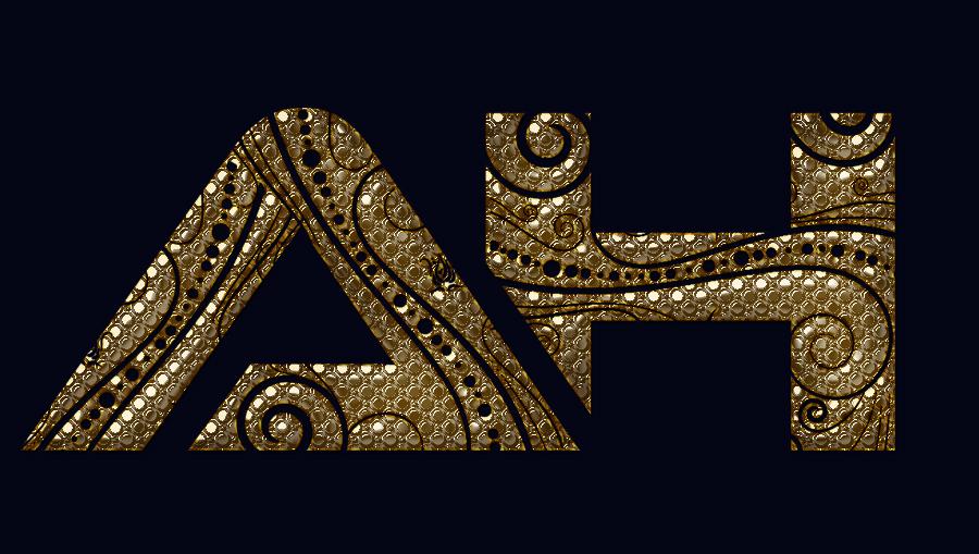 ah text logo