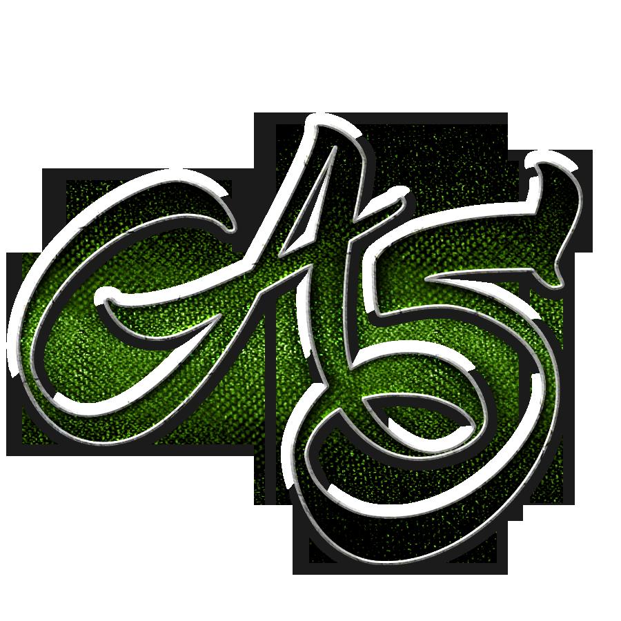 as letter logo