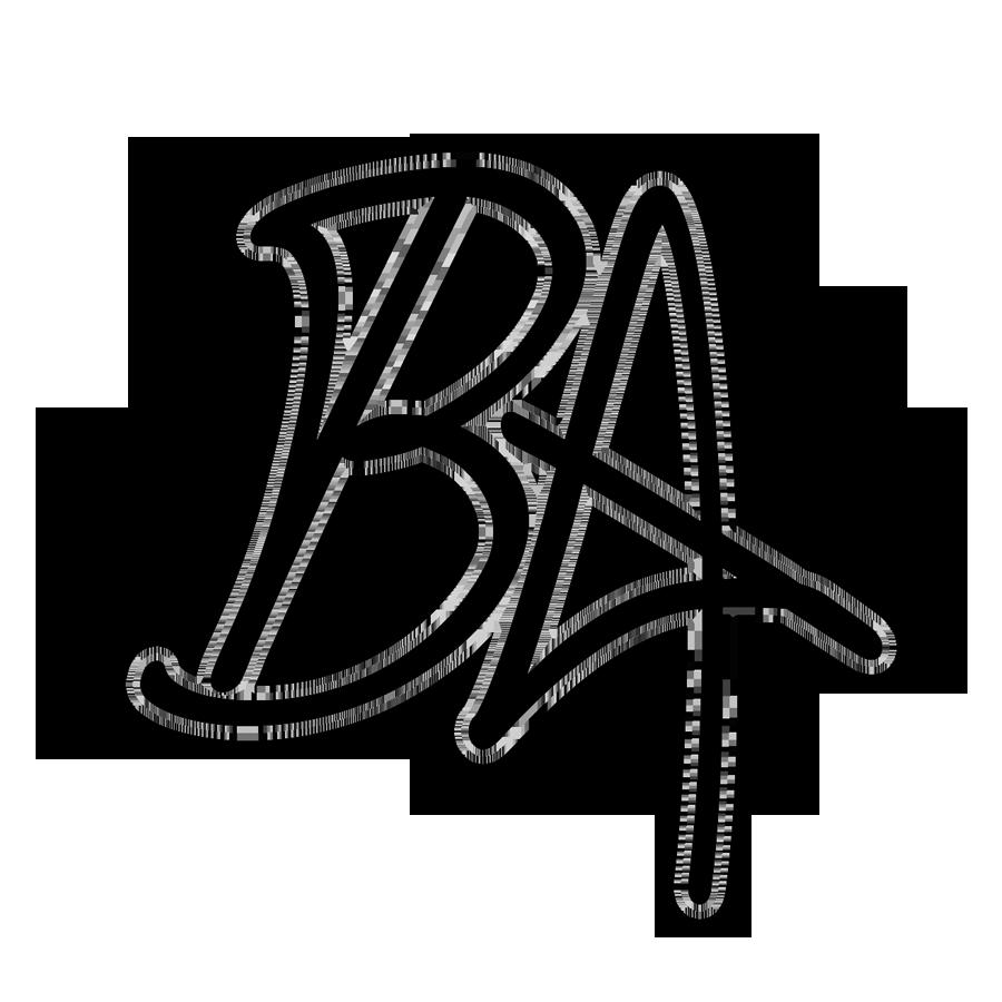 ba letter logo