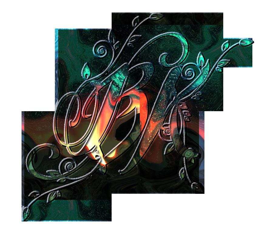 bk letter logo