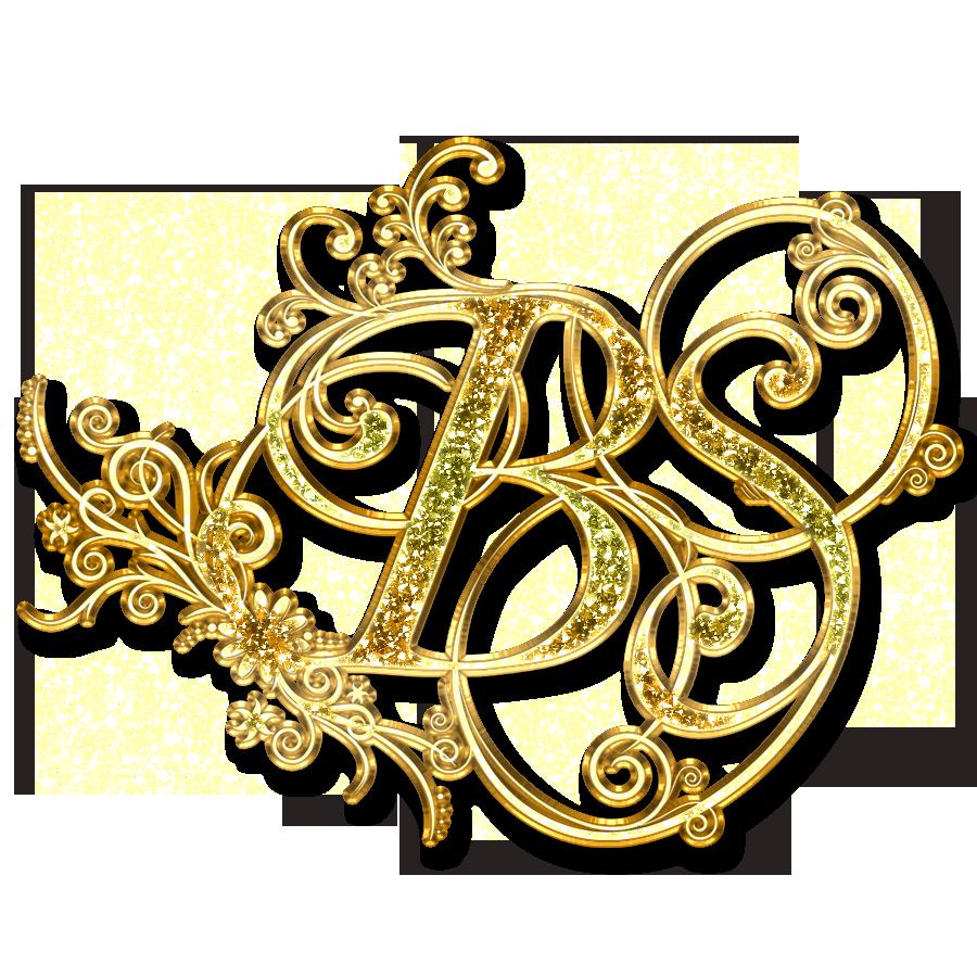 bs letter logo