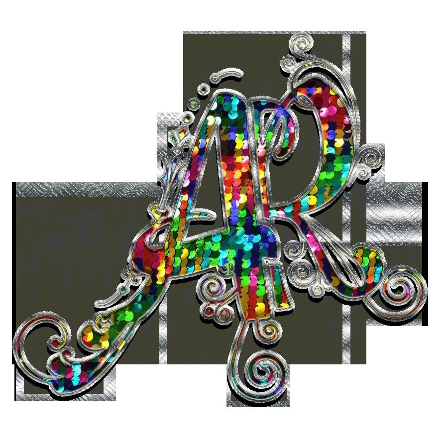 ar text logo
