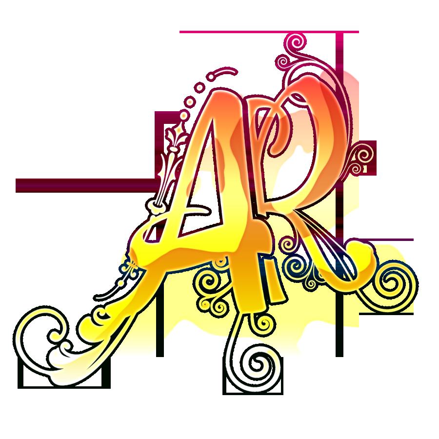 ar alphabet logo png