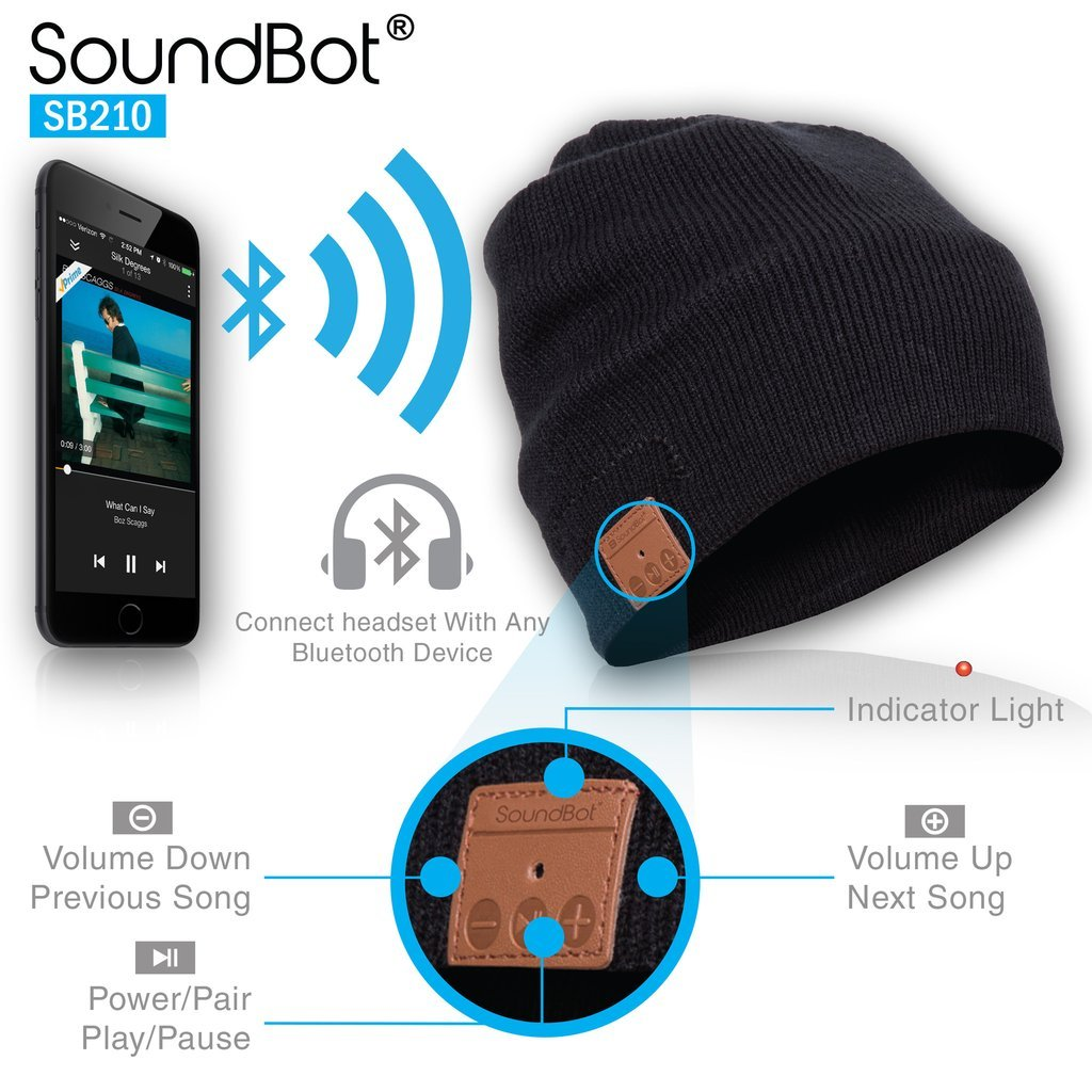 bluetooth winter hat