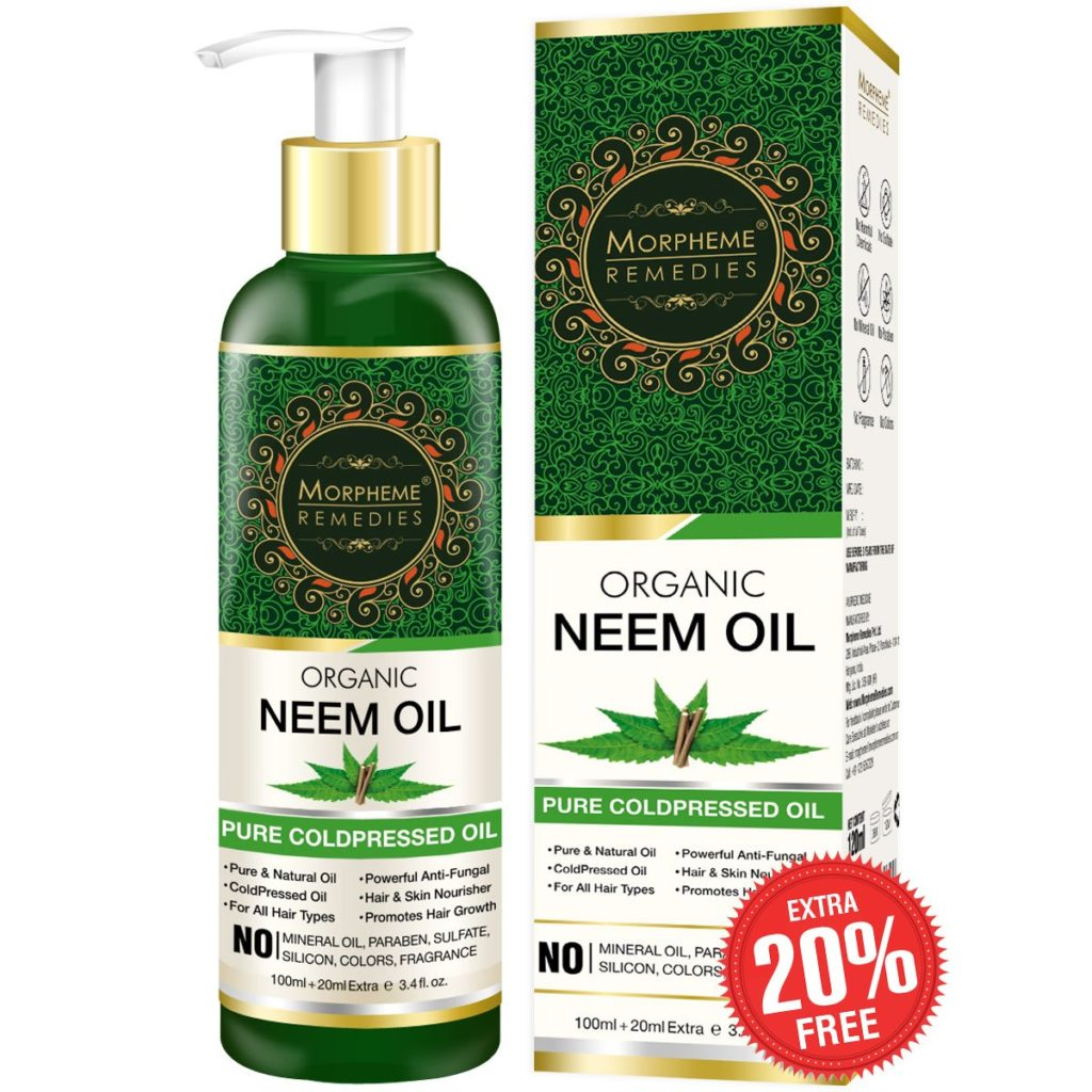 Organic Neem Cold Pressed Oil