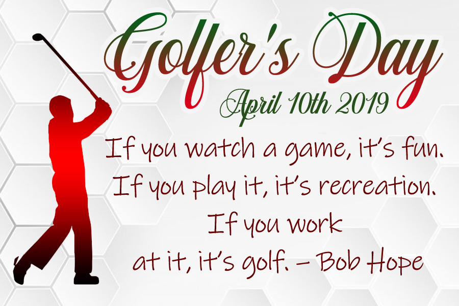 Golfer's Day 2019 images