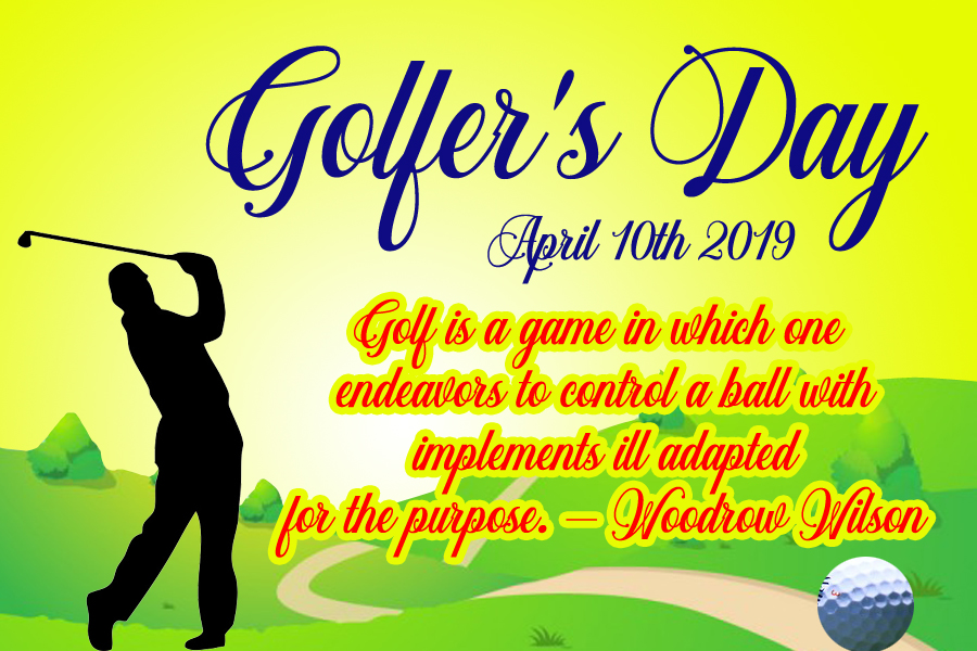 Golfer's Day 2019 wallpaper