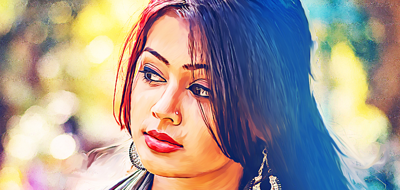 digital painting artist in south india